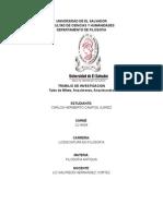 Trabajo de Investigacion Tales,Anaximenes,Anaximandro
