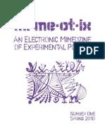 Sample Mimeotix Issue