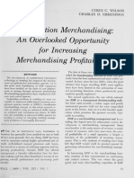 Clasification Merchandising
