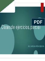 Clases de Ejercicios, Parcial_I