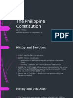 The Philippine Constitution
