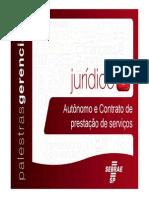Autonomo Contrato Prestacao Servicos