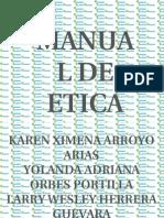 manual de etica