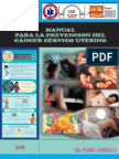 Manual para la Prevencion  del Cancer Cervico Uterino