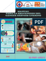 Manual para la Prevencion  del Cancer Cervico Uterino