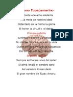 Himno Tupacamarino