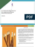 La evaluación diagnóstica_Folleto profesores