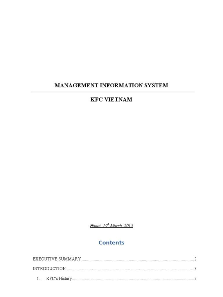 kfc erp system