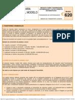 Instrucciones Modelo 620