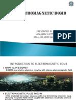 51751002 Electromagnetic Bomb