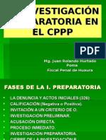 Investigación Preparatoria, Preliminar y Etapa Intermedia