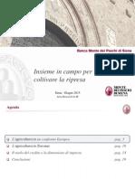 Studio Research Banca Mps Agricoltura Focus Toscana Giugno 2015