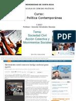 Sociedad Civil Acciones Colectivas y Movimientos sociales