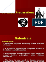 Galenicals