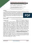 [IJCT-V2I3P9] Authors :Ali A, Bajpeye A and Srivastava A