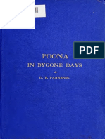 Poona in by Gone Day