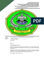Surat Pleno Tengah HMJ PBI 14