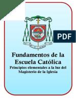 Fundamentos de La Escuela Parroquial
