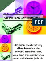 Potensi Antibiotik