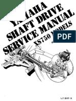 Shaft Manual Xs750