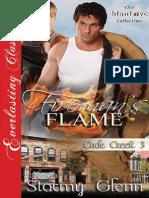 Stormy Glenn - Fireman's Flame (Cade Creek #3)