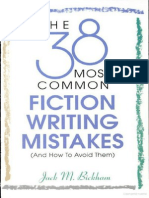 Jack M. Bickham-The 38 Most Common Fiction Writing Mistakes (and How to Avoid Them)-Writer's Digest Books (1997)