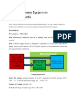 Power Delivery System in Motherboards