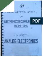 .Analog Electronics