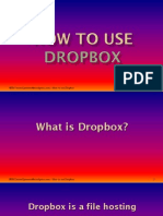 The Basics of Dropbox