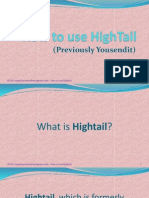 The Basics of Hightail