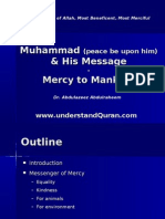 Muhammad Pbuh & His Message - Mercy to Mankind