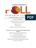 For Immediate Release—Full Poll Results February 2,