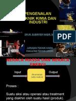 PTKI (Pengenalan Teknik Kimia dan Industri)