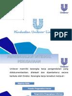 Persentasi Pengendalian Internal PT.Unilever