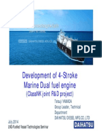 3 Development of 4-Stroke Marine Dual Fuel Engine