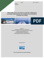 LNG Pilot Study - Trinidad and Tobago - Final Report
