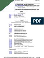 d Fcopa Nte Rnc2005 Reglamento Nacional de Edificacione