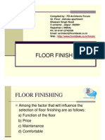 Floor Finish