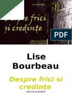 Lise Bourbeau - Despre frici si credinte