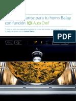 Recetario Balay