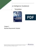 BIGuidebook Templates - BI Requirements