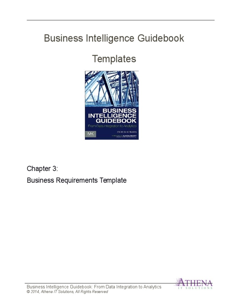 Biguidebook templates bi requirements business intelligence biguidebook templates bi requirements business intelligence use case flashek Gallery