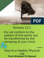 Transformation Physical Health
