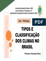 Aula 2 - Tipos e Classificação Dos Climas [Modo de Compatibilidade]