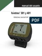 Foretrex 401 Manual español