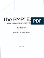 Rita pmp exam prep 8th edition rita mulcahy the pmp exam by andy crowe 5th edition gift for all pmp students fandeluxe Image collections