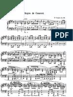 Chopin - Allegro de Concert Op 46