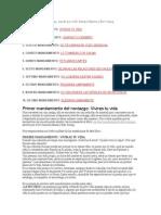 10 MANDAMIENTOS Del Noviazgo Docx