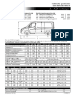 Mercedes-Benz Sprinter dimensions