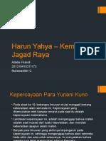 Harun Yahya – Kemilau Jagad Raya Pengganti KAP